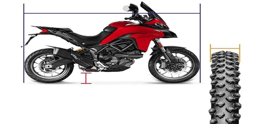 Características de la rueda para elegir el ancho de las rampas