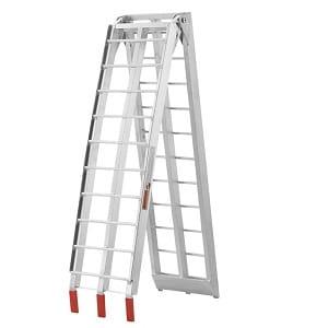 Rampa de carga plegable de aluminio